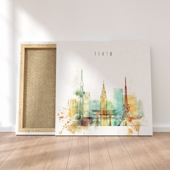 Tokyo wall painting decor, Japan modern art for home