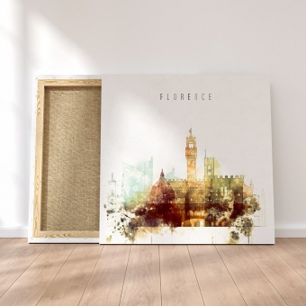 Florence home goods wall art, Italy print canvas art