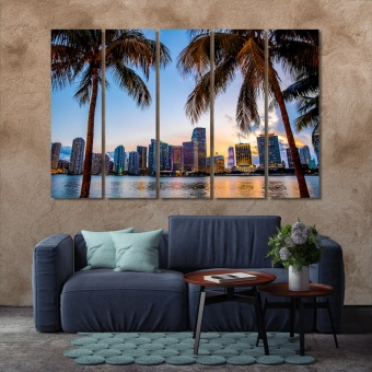 Miami modern wall decorations