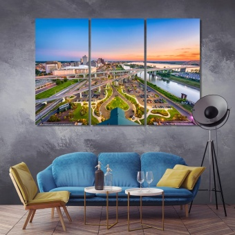 Memphis modern wall art decor