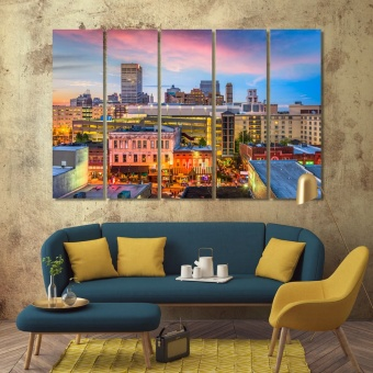 Memphis cool wall decorations, Tennessee house artwork