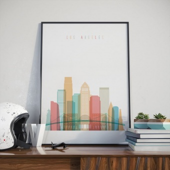 Los Angeles wall art print, ‎California picture for wall