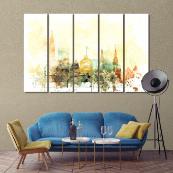 Strasbourg wall decor and home accents, France canvas art work