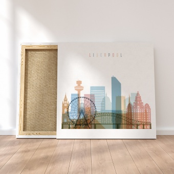 Liverpool canvas wall art, England the wall art decor