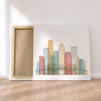 Los Angeles canvas wall pictures, ‎California art wall