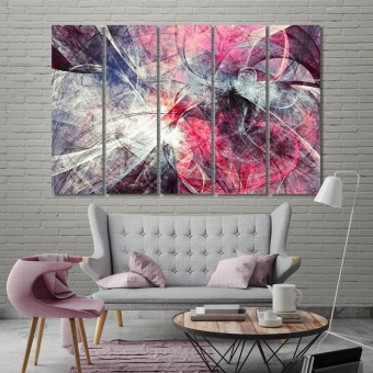 Artistic color motion composition canvas art prints