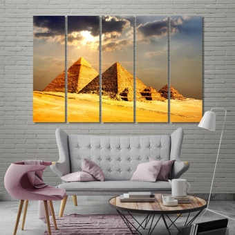 Pyramids of Egypt pictures for living room walls art