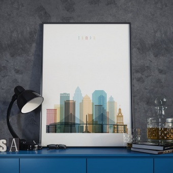 Tampa wall decor poster, ‎Florida decorative paintings