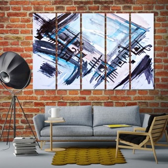 Geometric patterns abstract artistic prints