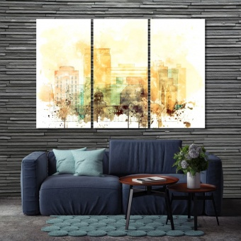 Damascus wall decor pictures, Syria wall art for home