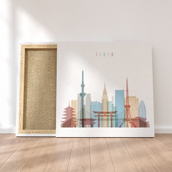 Tokyo canvas wall pictures, Japan home wall decor