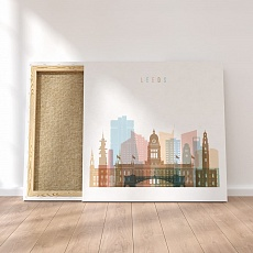 Leeds canvas wall decor