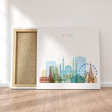 Kazan canvas art