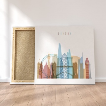 London canvas wall art, ‎United Kingdom wall decor for home