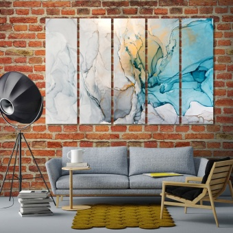 Marble abstract large wall pictures
