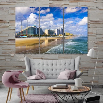 Daytona Beach wall art canvas prints, Florida art for home
