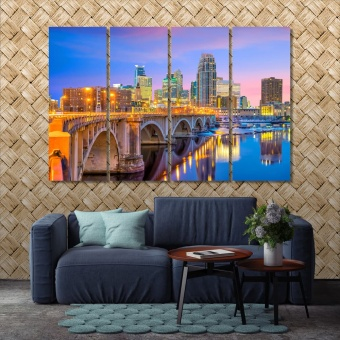 Minneapolis wall decor paintings, Minnesota picture wall decor