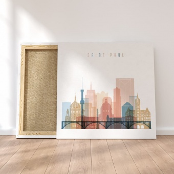 Saint Paul canvas wall pictures, Minnesota wall arts