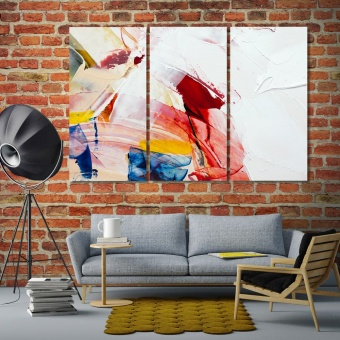 Colorful picture wall oil paintings, oil abstract print canvas art