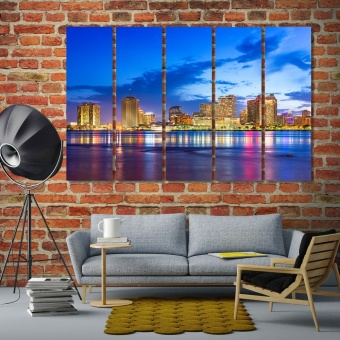 New Orleans home wall decor, Louisiana art wall panels