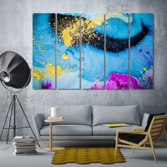 Fashion abstract art living room wall decor pictures