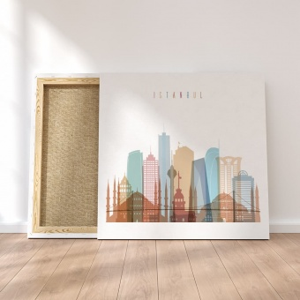Istanbul canvas art, Turkey wall decorations for bedroom