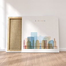 Oakland California canvas wall art