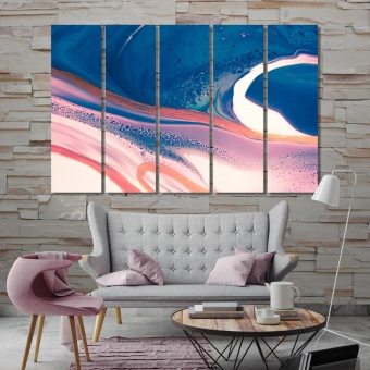 Beautiful abstract modern wall art for living room