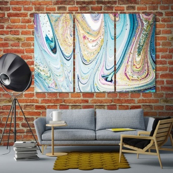 Magic unique painting artwork for home, abstract painting canvas print