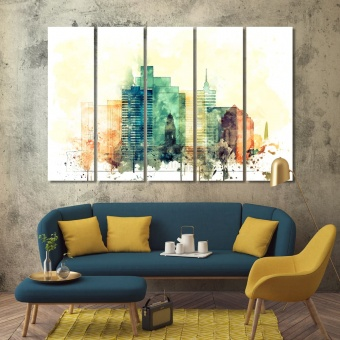 Cape Town living room wall decor, South Africa wall prints