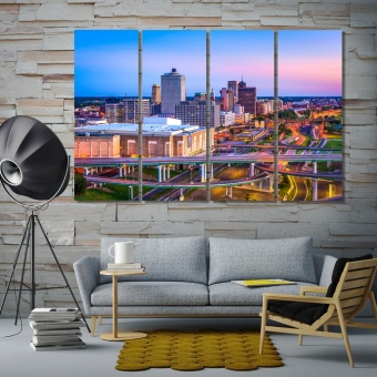Memphis art room decor, Tennessee home goods wall art