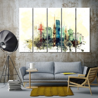 Vienna best wall decor, Austria canvas art for living room