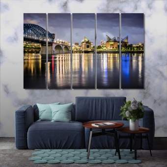 Chattanooga artwork home decor, Tennessee canvas prints art