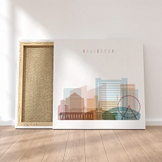 Arlington Texas canvas wall paintings