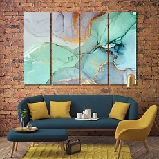 Abstract marble wall decor and home accents, cool abstract art
