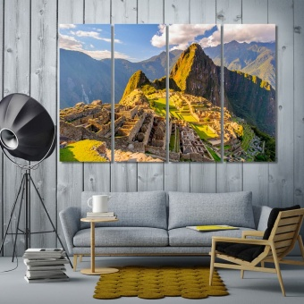 Machu Picchu cool art for walls