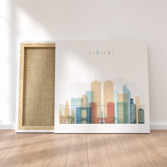 Caracas canvas decor