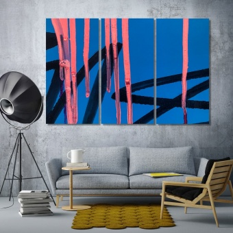 Modern abstract wall art paintings for living room