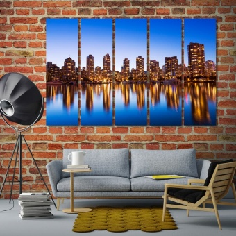 Vancouver wall art decoration, Canada living room wall art