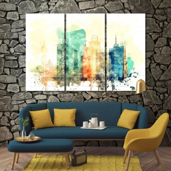 Stockholm wall art ideas for living room, Sweden canvas art prints