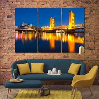 Sacramento pictures for home decor, California canvas art prints