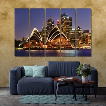 Sydney wall art canvas prints