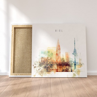 Kiel art and home decor, Germany canvas prints art