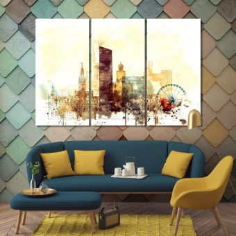 Seville art prints on canvas,  Spain decoration wall