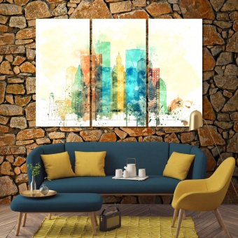 Miami wall art canvas prints, Florida decoration wall