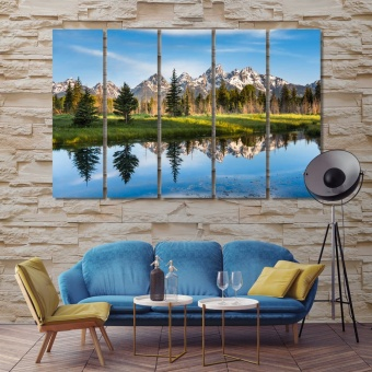 Grand Teton National Park designer wall art