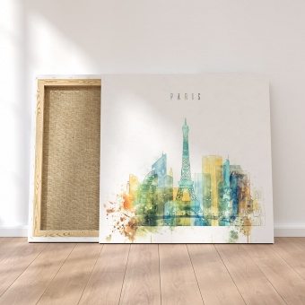 Paris fashion wall decor, France canvas art prints
