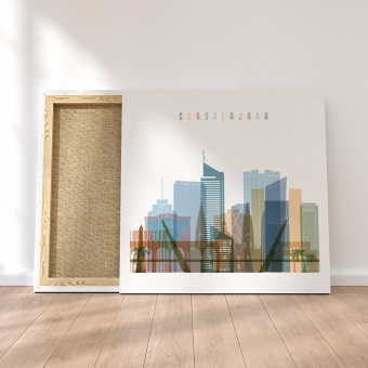 Guadalajara canvas wall pictures, Mexico art printing on canvas