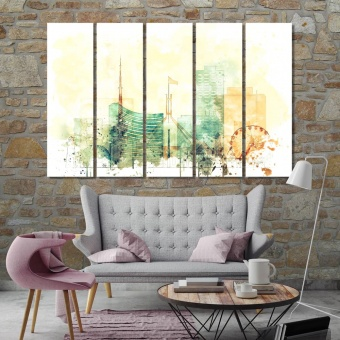 Canberra home wall art, Australia canvas wall art contemporary