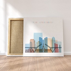 Fort Lauderdale Florida canvas art